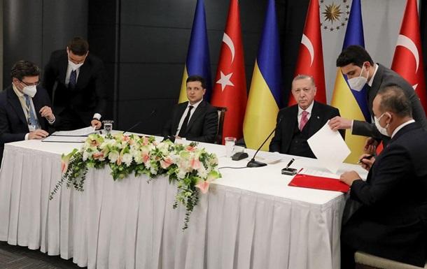 Зеленский договорился с Эрдоганом о совместных шагах по деоккупации Донбасса