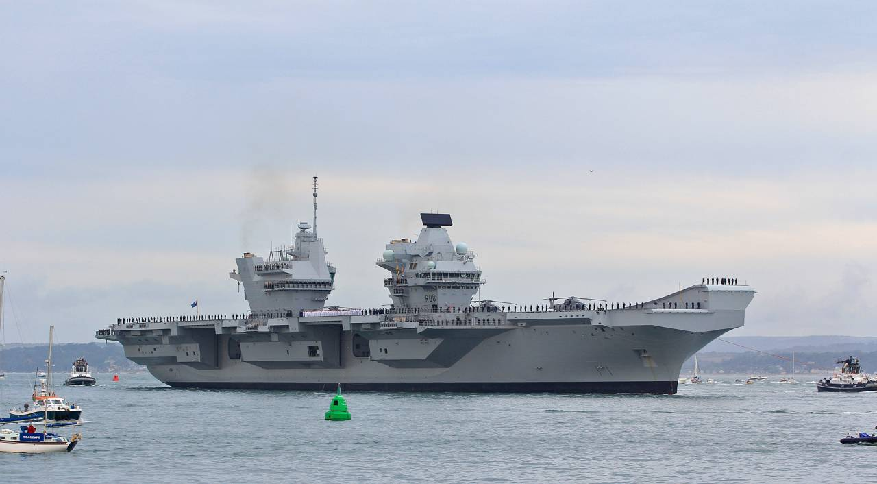 Российский военный флот репетирует блокаду Гибралтарского пролива