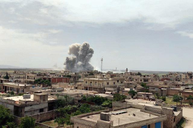 В Сирии произошел мощнейший взрыв на российско-турецкой линии разграничения, видео