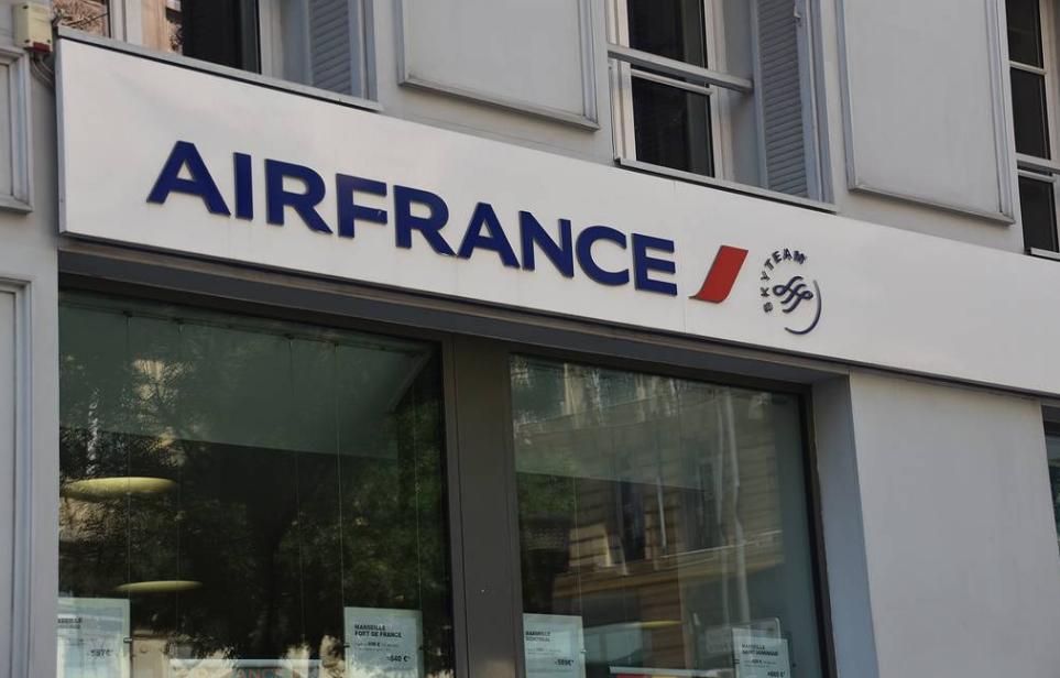 Air France отменила рейс в Москву из-за проблем с облетом Беларуси
