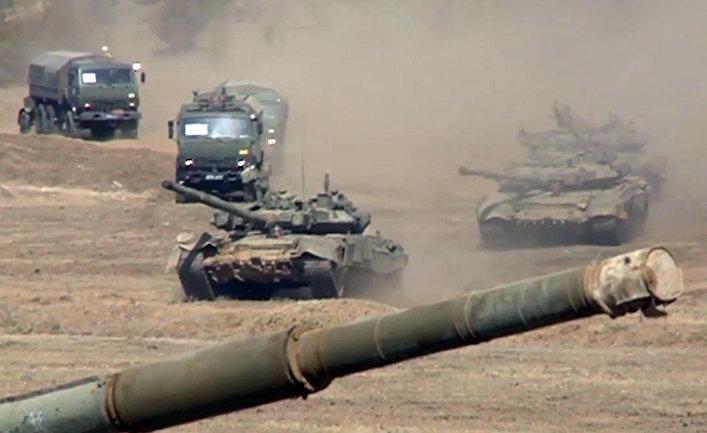 Россия возобновила наращивание войск возле украинской границы