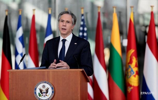 Блинкен заявил, что США ответят на безрассудные и агрессивные действия России
