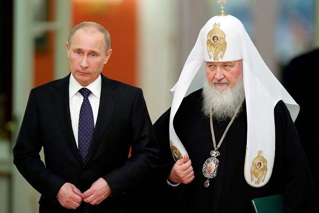 Патриарх Кирилл публично обвинил Путина в тирании