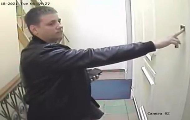 Появилось видео обысков в доме Кличко