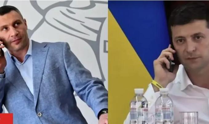 Российский пранкер от имени Кличко ночью позвонил Зеленскому