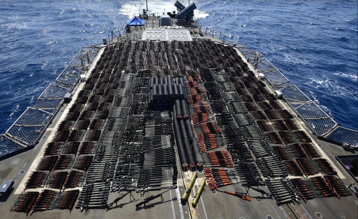У берегов Сирии атакован танкер, видео