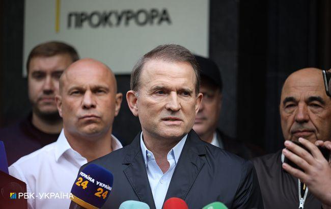 Начался суд по избранию меры пресечения Медведчуку