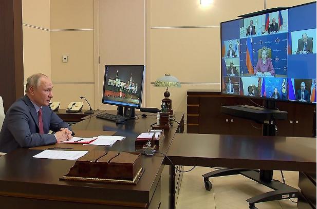 Путин на заседании Совбеза лично отреагировал на арест Медведчука