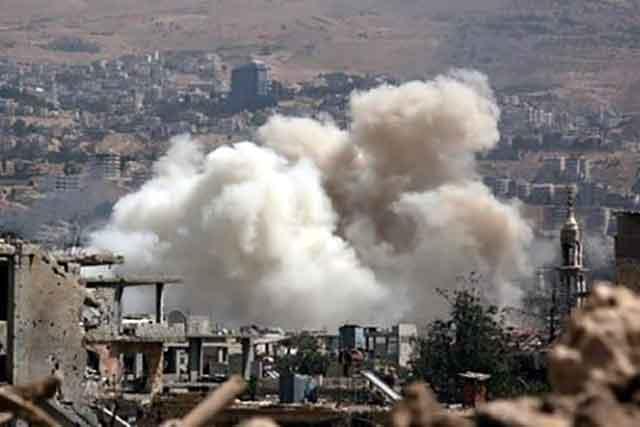 В Сирии российская авиация и артиллерия нанесли мощный удар по турецким позициям