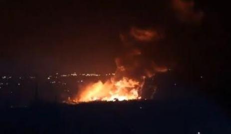 В Сирии взорван склад боеприпасов российских наемников. Видео