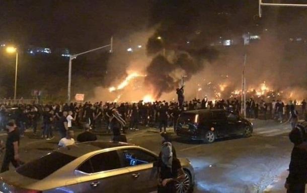 Пригород Тель-Авива охватили беспорядки
