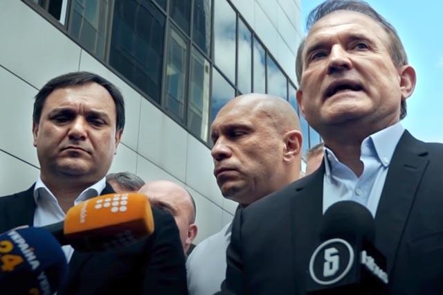 Медведчук договаривался о закупках угля с Россией и главарями «ЛДНР»