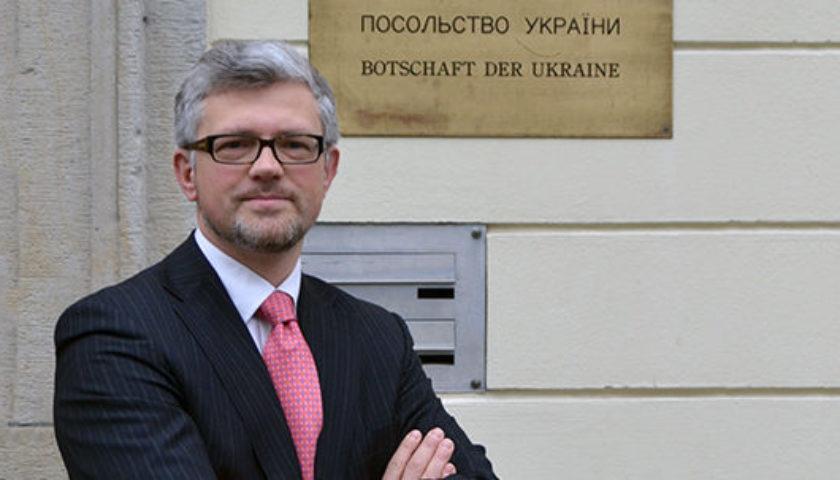 Посол Украины в Германии обвинил правительство Меркель в потакании России