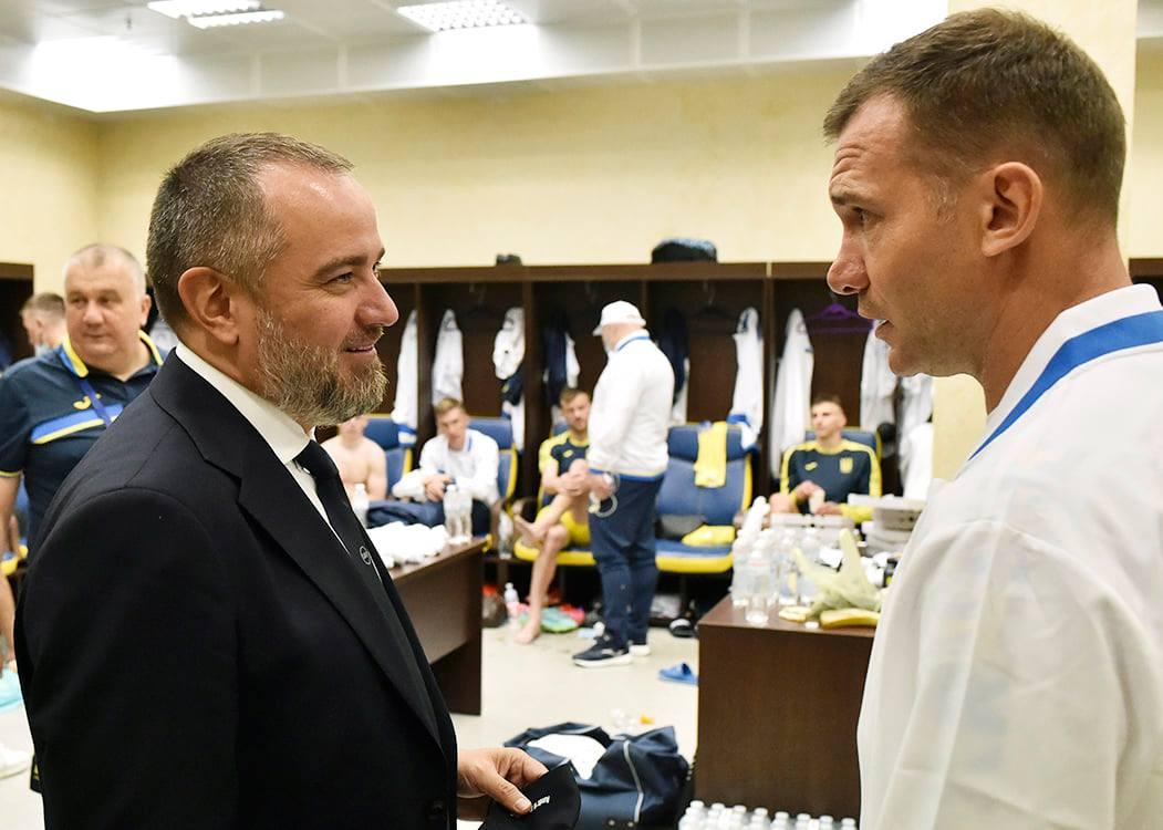 Павелко заявил, что новая форма пошла сборной Украине на фарт
