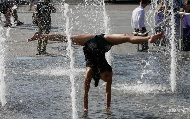 В Киеве жара побила рекорд за сто лет