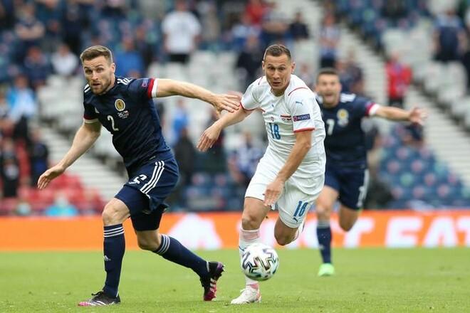 Дубль Шика принес сборной Чехии победу над Шотландией