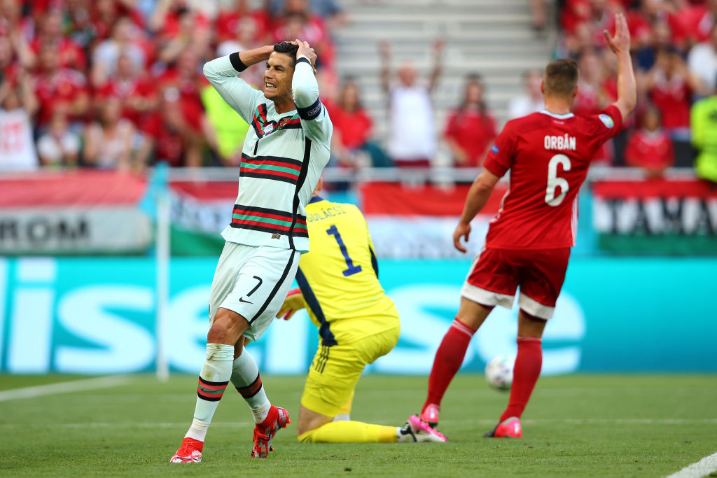 Дубль Роналду помог Португалии разгромить Венгрию