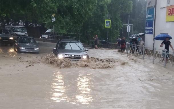 В Офисе президента прокомментировали наводнение в Крыму