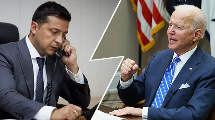 Байден позвонил Зеленскому и пригласил в Белый дом