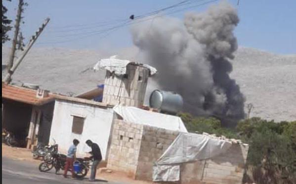 В Сирии российские самолеты нанесли мощный авиаудар