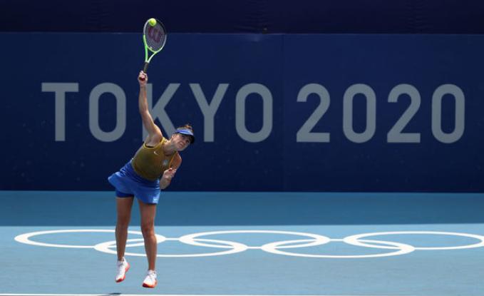 Свитолина проиграла полуфинал Олимпиады с разгромным счетом