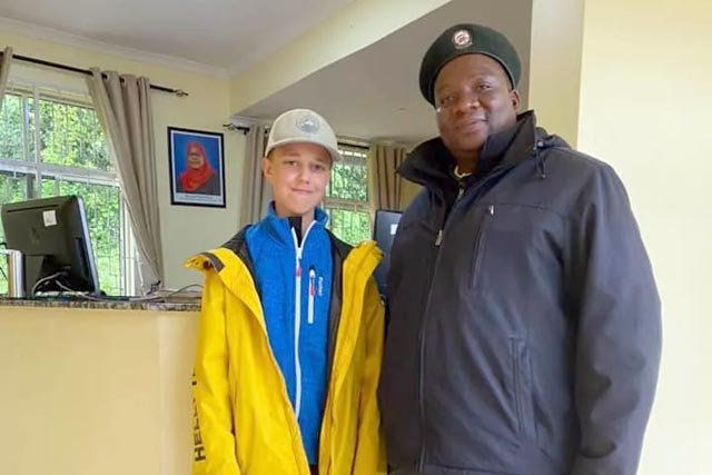 Украинский подросток стал самым юным в мире покорителем Килиманджаро
